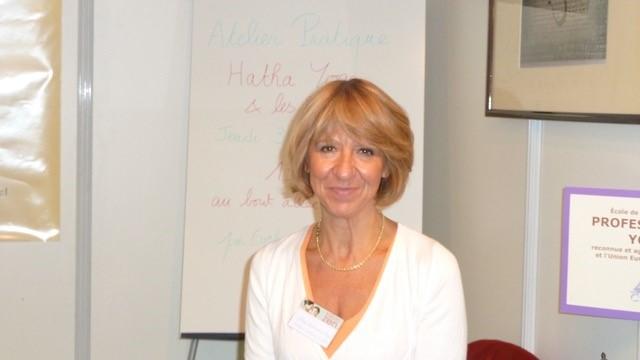 Evelyne Sanier-Torre, fondatrice du collège national de Yoga